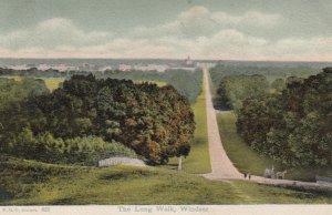 WINDSOR , England, 1900-1910's; The Long Walk