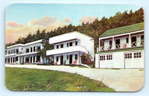 Postcard WV Romney Houser's Motel on US 50 c1950s J8