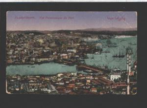 077387 TURKEY CONSTANTINOPLE port view Vintage PC