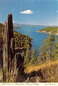 Lake Coeur d'Alene - Mineral Ridge, Idaho