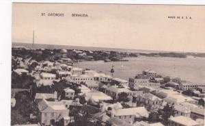 ST. GEORGES, Bermuda, 1900-1910s;  Panorama