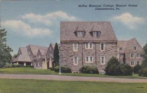 Pennsylvania Elizabethtown Mckee Memorial Cottage Masonic Homes