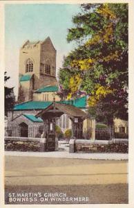 St. Martin's Church, Bowness on Windermere, Cumber, England, United Kingdom, ...