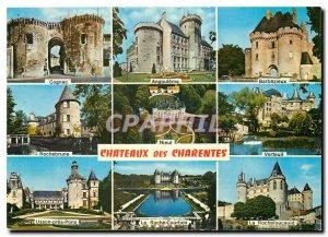 Postcard Modern Chateaux des Charentes