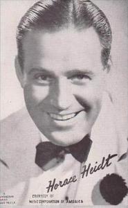 Mutoscope Postcards Horace Heidt Music Corporation Of America Big Band Era