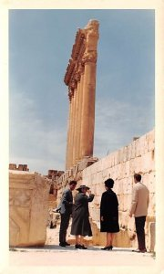 Temple of Jupiter, Destroyed by Earthquake in 1750 Baalbek, Lebanon writing o...