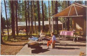 Tent Village Coulter Bay Village Grand Teton National Park W
