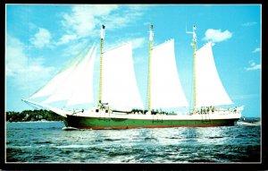 Maine Boothbay Harbor Schooner Victory Chimes