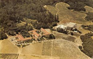 USA California The Christian Brothers Monastery and Winery 1959