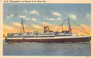 S.S. Evangeline     Eastern Steamship Lines