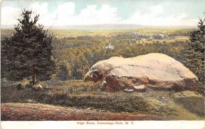 High Rock Sacandaga Park, New York Postcard