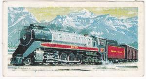 Trade Cards Brooke Bond Tea Transport Through The Ages No 19 Modern Steam Loco