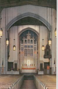 The Sanctuary of Trinity Methodist Church, Albany, NY, unused Postcard