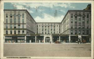 Augusta GA Albion Hotel 1918 Used Postcard