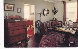 Elgin County Pioneer Museum, Sitting Room Furnished In Early Victorian Style,...