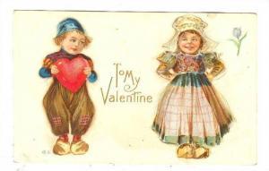 Valentine, 00-10s ; Dutch Romance child couple