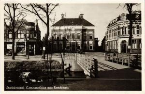 CPA Stadskanaal Gemeentehuis met Raadszaal NETHERLANDS (728361)