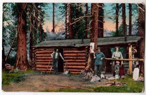 Deer Hunt, Cabin, PM San Jose, Cal