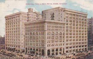 Illinois Chicago Marshall Field & Companys Retail Store 1908
