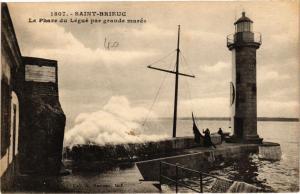 CPA St-BRIEUC-Le Phare du Légué par grande marée (231604)