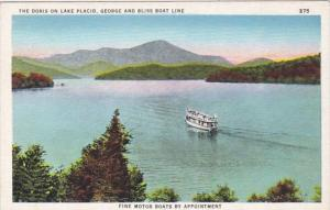 New York Lake Placid The Doris On Lake Placid George and Bliss Boat Line