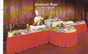 Ohio Toledo Secor Hotel Candlelight Buffet