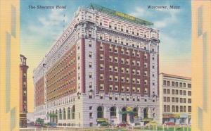 Massachusetts Worcester The Sheraton Hotel 1954