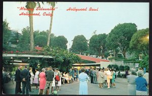 California HOLLYWOOD Bowl Patio Gift Shoppe Moving Sidewalks - Chrome