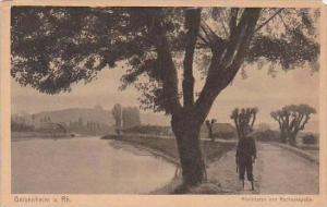 Germany Geisenheim am Rhein Rheinhafen und Rochuskapelle