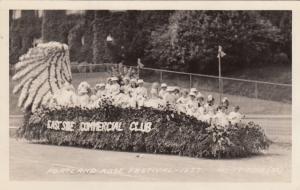 RP; East Side Commercial Club Float, Rose Festival Parade, Portland, Oregon,1937