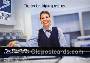 United States Postal Service  Postcards Post Cards Old Vintage Antique  Unite...