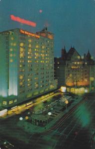 MacDonald Hotel, North Saskatchewan River Valley, Edmonton, Alberta, Canada, ...