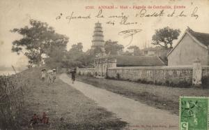 CPA Vietnam Indochine - Annam - Hué - Pagode de Confucius (85406)