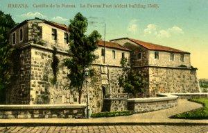 Cuba - Havana. La Fuerza Fort