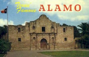 The Alamo San Antonio TX Unused