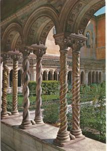 ROMA, Basilica di S. Paolo, Colonnine del Chiostro Cosmatesco, unused Postcard