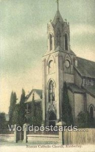 Roman Catholic Church Kimberley South Africa Writing on back