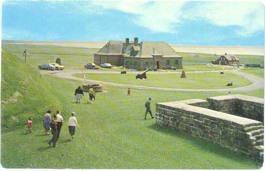 Fort Beausejour National Historic Park New Brunswick Canada, Chrome