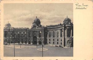 Austria Vienna, Wien Burg Michaelertor AK