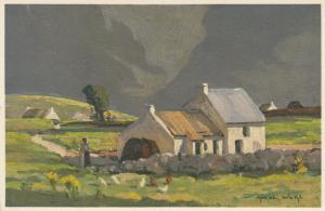 Connemara ,County Galway, Ireland, 1910s ; Home