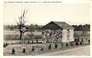 New York Bemis Heights Old Powder Magazine Saratoga Battlefield
