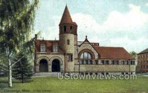 Public Library Cambridge MA 1909