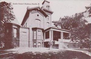 Illinois Danville Speaker Cannons Residence