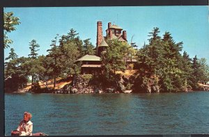 Ontario Pullman's Castle Rest 1000 Islands Beautiful Home Chrome 1950s-1970s