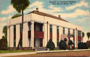 Florida New Smyrna Beach Chamber Of Commerce Building 1953 Curteich