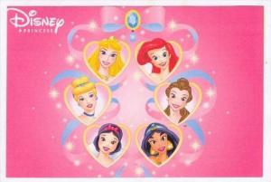 Disney Princess DVD adv postcard #6
