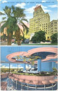 Linen of El Cortez Hotel & Sky Room San Diego California CA