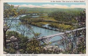 In The Ozarks The Land Of A Million Smiles Scenic View Of Lake Taneycomo Miss...