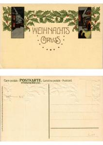 CPA Weihnachtsgruss Meissner & Buch Litho Serie 1476 (730406)