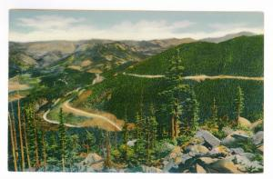 Grand Lake, Colorado to Philadelphia, Pennsylvania 1939 PC Rocky Mountain Park